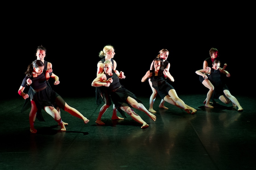Summation Dance Company performing 'Deep End.' Photo by Christopher Duggan.