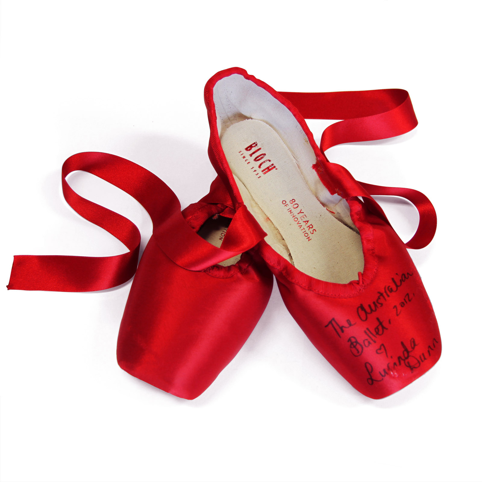 Bloch's Red Pointe Shoe Project