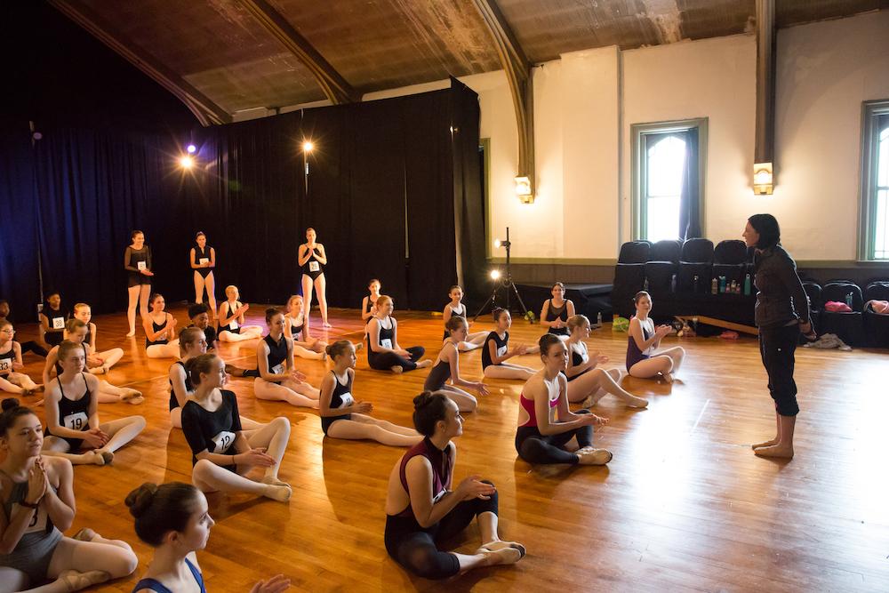 Detroit dance summer intensive scholarships audition