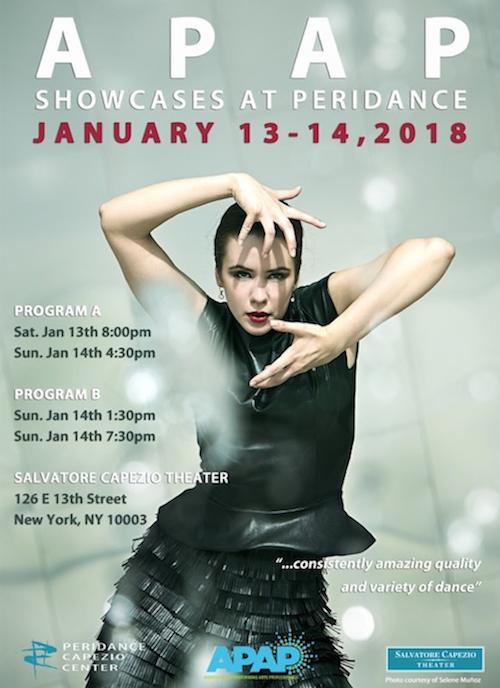 Peridance Capezio Center's APAP 2018 Shows