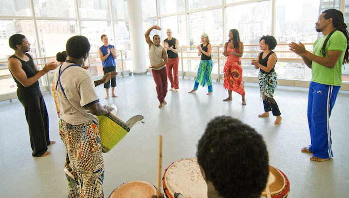 West African Class at Ailey Extension NYC
