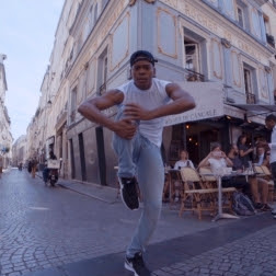 Alvin Ailey American Dance Theater's Solomon Dumas takes to the streets of Paris