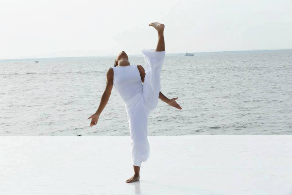 Annique Roberts performing at Fire Island Dance Festival