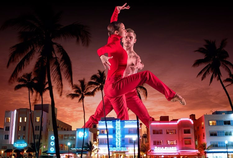 Contemporary Ballet Company on tour in Miami