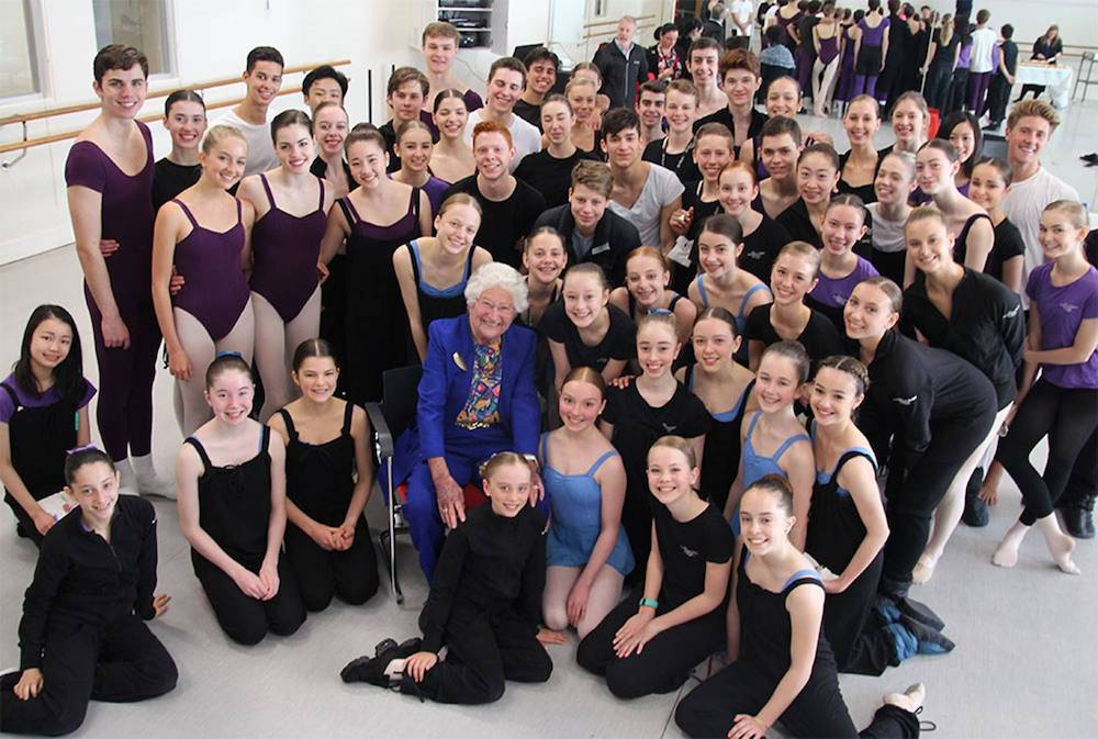 The Australian Ballet School mourns the death of Vale Miss Betty Amsden