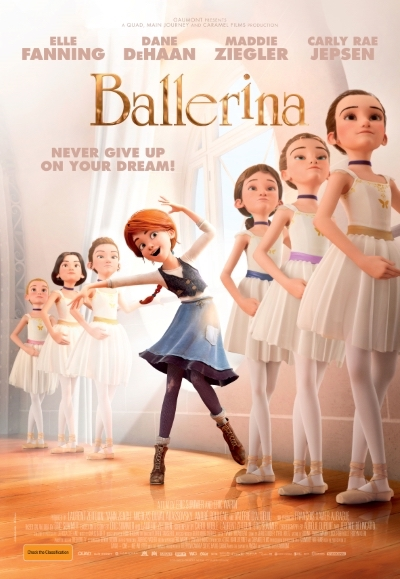 Animated film Ballerina in Australia