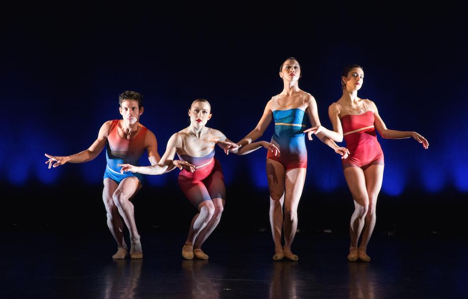 Edgar Anido, Chloe Felesina, Caili Quan and Francesca Forcella in Show Me by Matthew Neenan