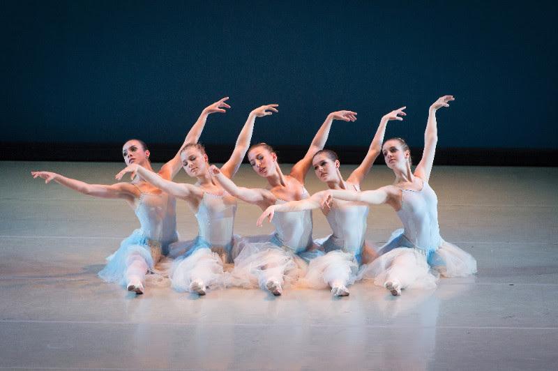 Choreography by George Balanchine