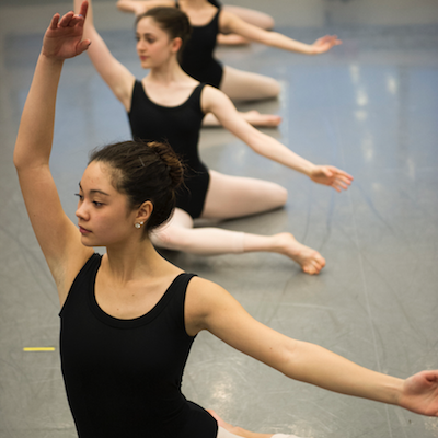Ballet classes at Ballet Hispánico