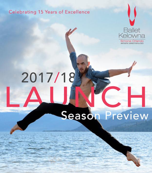 Ballet Kelowna launches 2017-18 Season