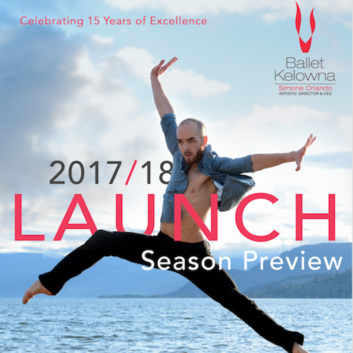 Ballet Kelowna 2017-18 Season Launch