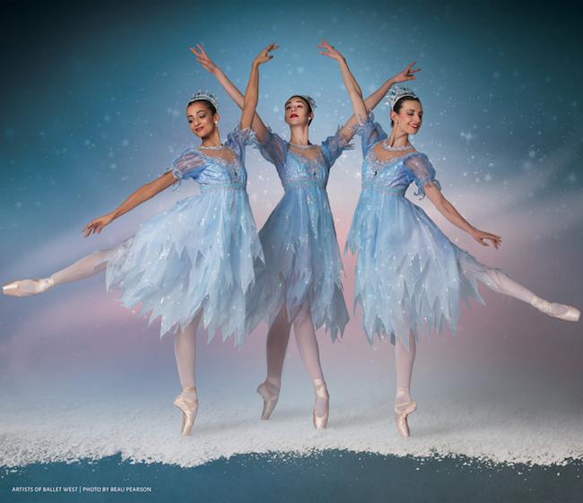 Ballerinas in The Nutcracker. Photo by Beau Pearson.