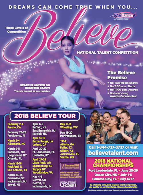 Believe National Talent Competition 2018