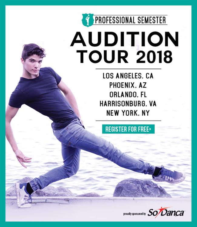 BDC Professional Semester Audition Tour 2018