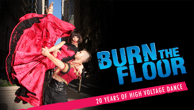 Burn the Floor coming to Melbourne in January 2017