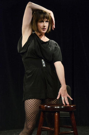 Mimi Quillin in her one-woman show