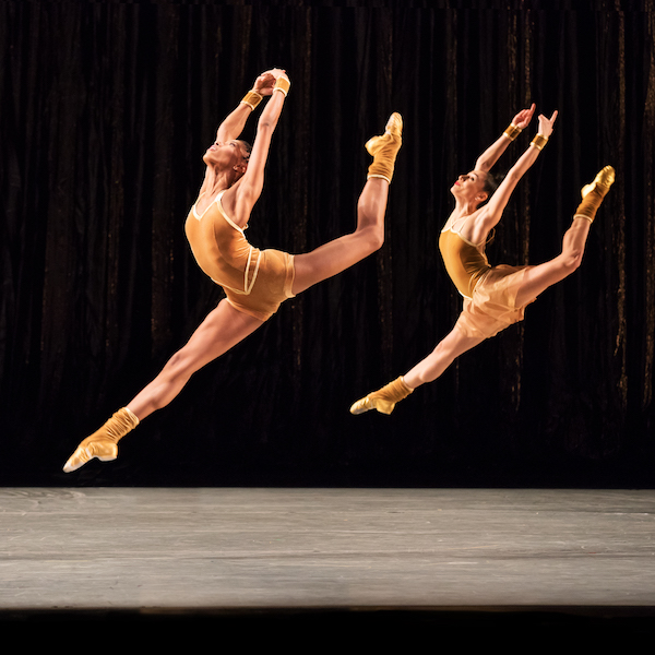 Twyla Tharp's The Golden Section