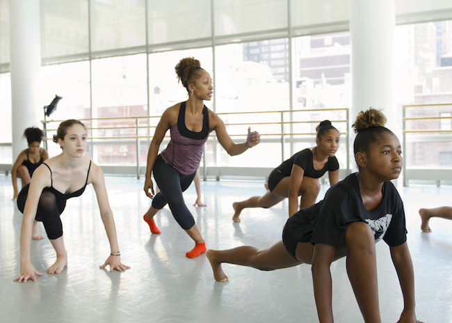 Horton dance class