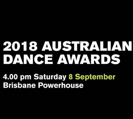 Australian Dance Awards 2018 Brisbane