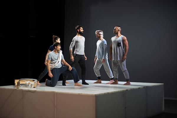 ADT dancers Harrison Elliott, Jana Castillo, Daniel Jaber, Christopher Mills and Thomas Fonua
