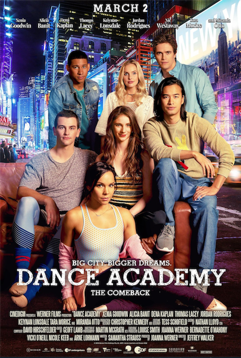 Dance Academy Movie USA Release
