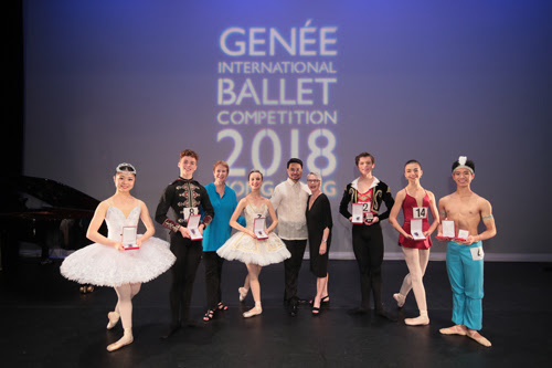 Royal Academy of Dance 2018 ballet competition