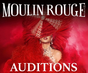 Paris cabaret auditions Australia 2018