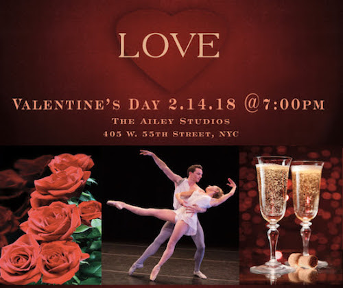 2018 Valentine's Day Champagne Party and Performance