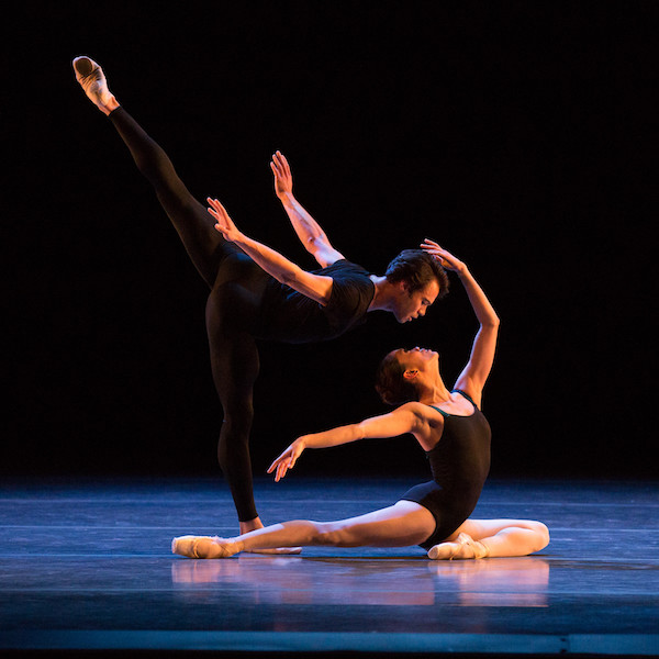 Paulo Arrais and Lia Cirio in Jorma Elo work