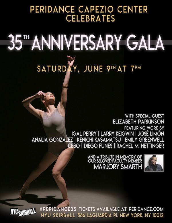 Peridance Contemporary Dance Company's Greta Zuccarello at Peridance Capezio Center