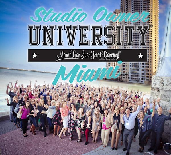 Dance Studio Owner Event