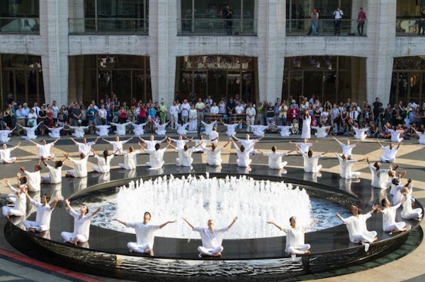 9/11 dance performance at Lincoln Center