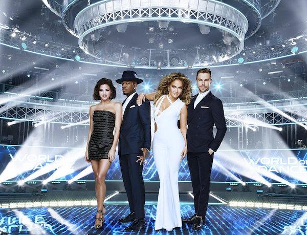 Jenna Dewan, Ne-Yo, Jennifer Lopez, Derek Hough
