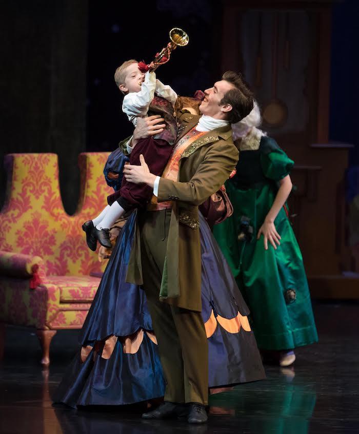 Cincinnati Ballet's Daniel Wagner and Jack Barlow. Photo by Peter Mueller
