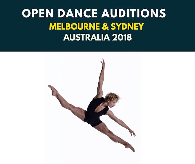 Australian Cirque du Soleil Auditions 2018