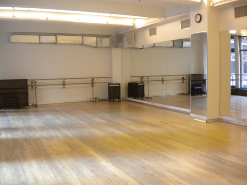 New York City rental space for dancers