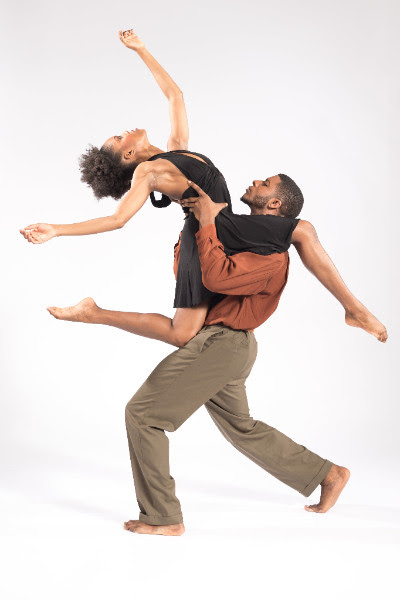 Paige Frazier and Joshua Henry. Photo by Ken Carl.