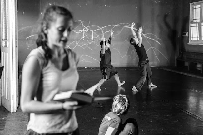 Thomas E.S. Kelly's Choreographic Lab 2016