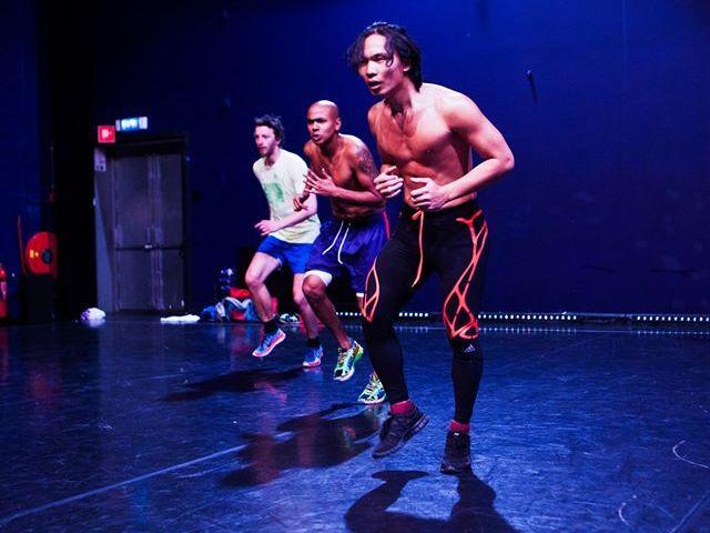 Campbelltown Arts Centre dance residency January 2017