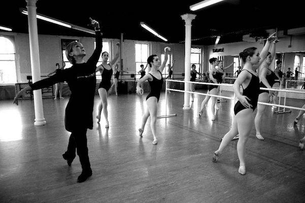 Joffrey Ballet School class