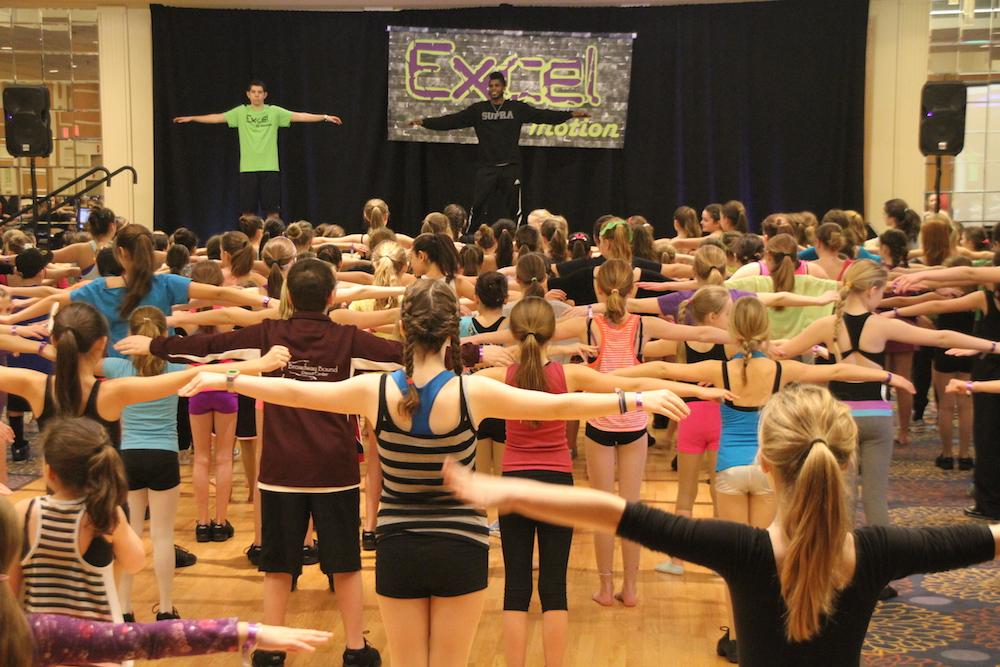 Dance teacher Cyrus Spencer
