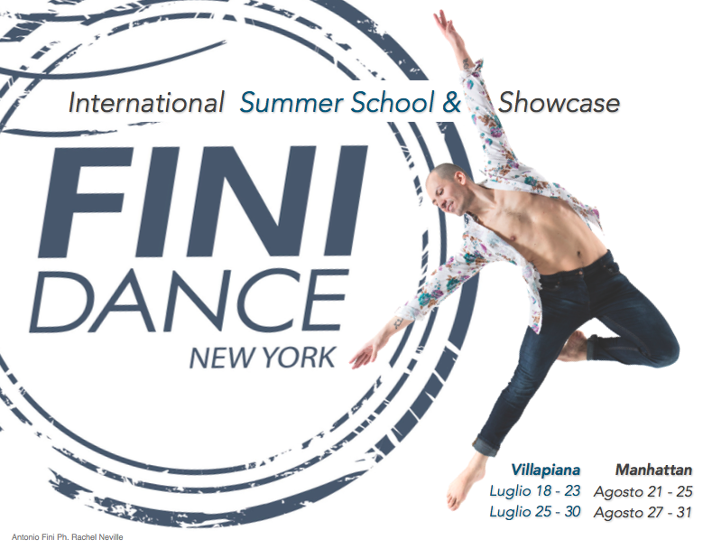 Fini Dance 2017 NYC Summer Intensive and Showcase