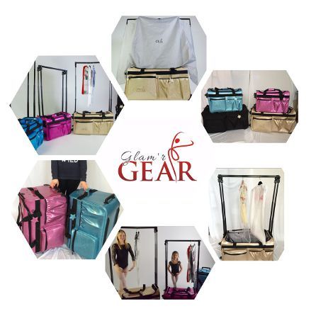Glam R Gear Provides Customized Luggage For Dancers On The