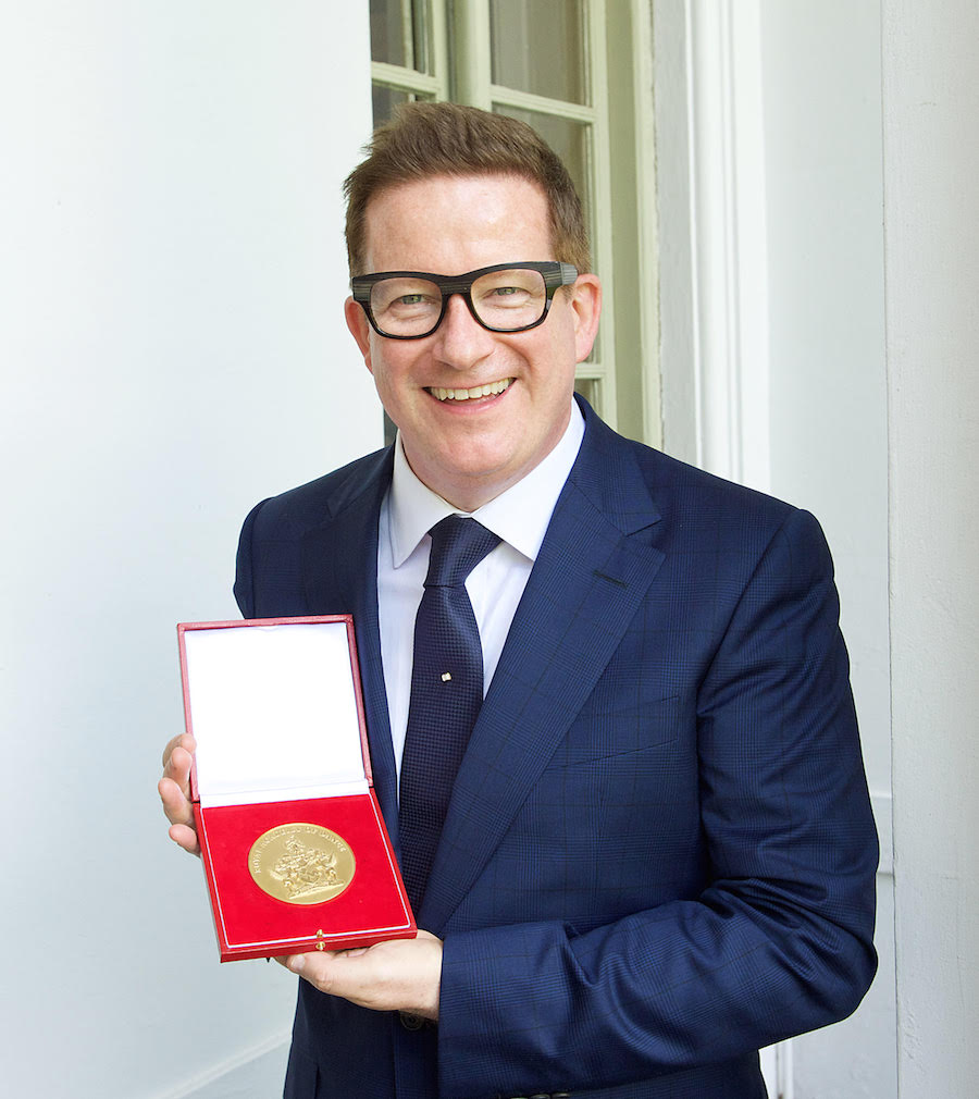 Matthew Bourne receives elite QEII Award