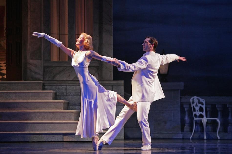 Jonah Hooper dancing in The Great Gatsby for Atlanta Ballet