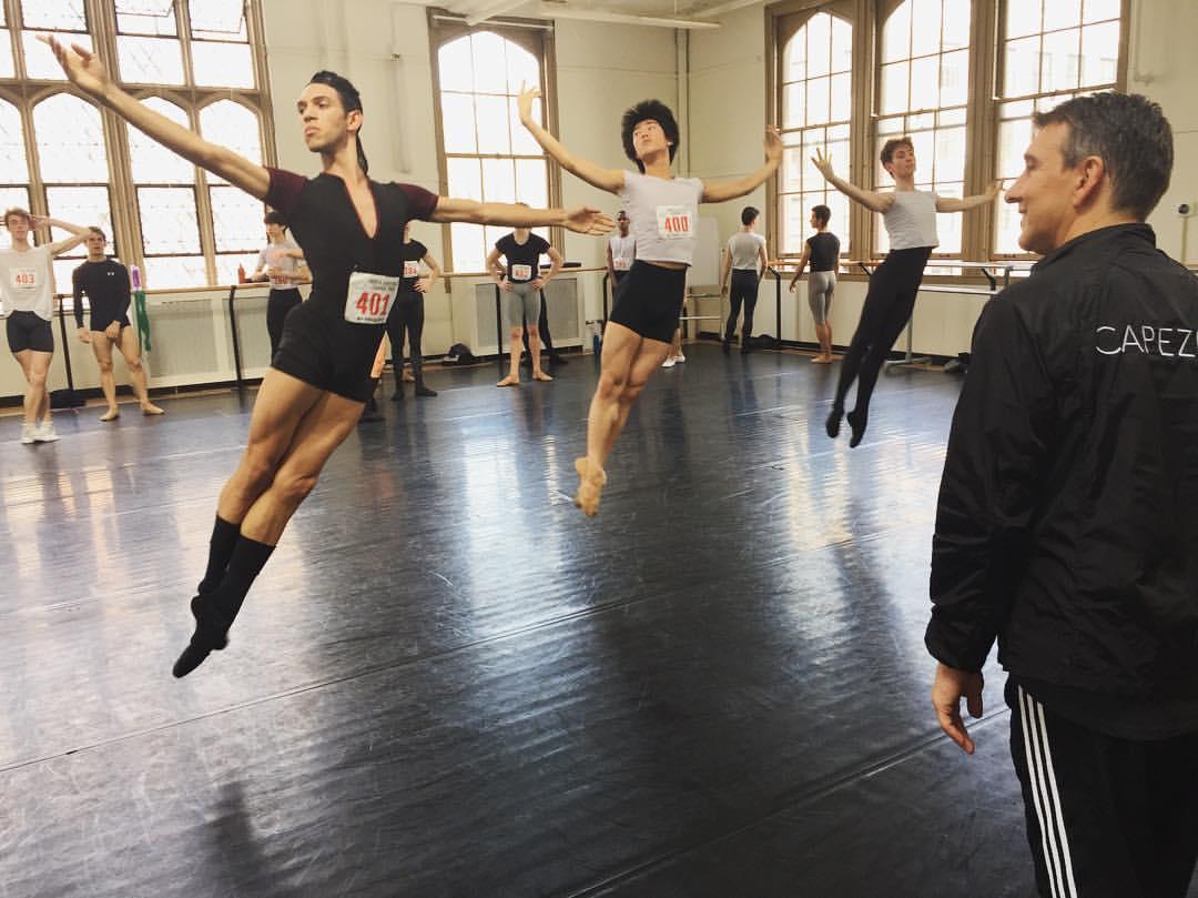 YAGP 2017 NYC Finals ballet class