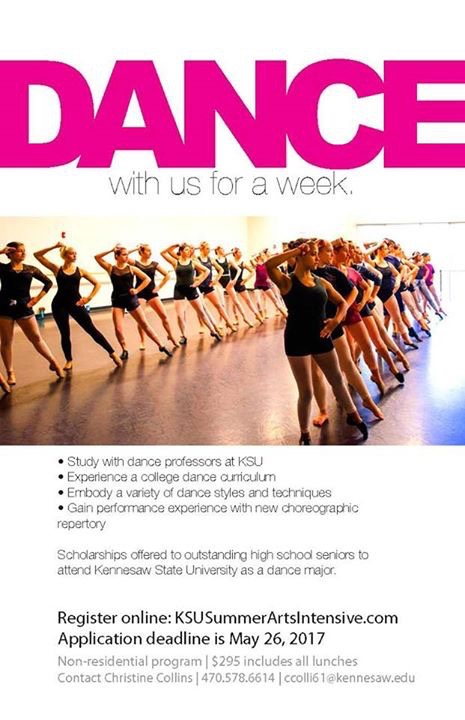 2017 Kennesaw State University Summer Dance Intensive