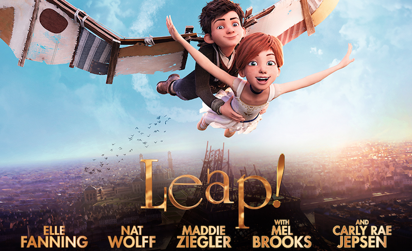 LEAP! animated film about ballerina in Paris