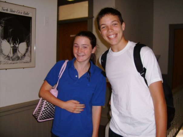Summer Intensive students Julia Pingeton and Tanner Myles Huseman