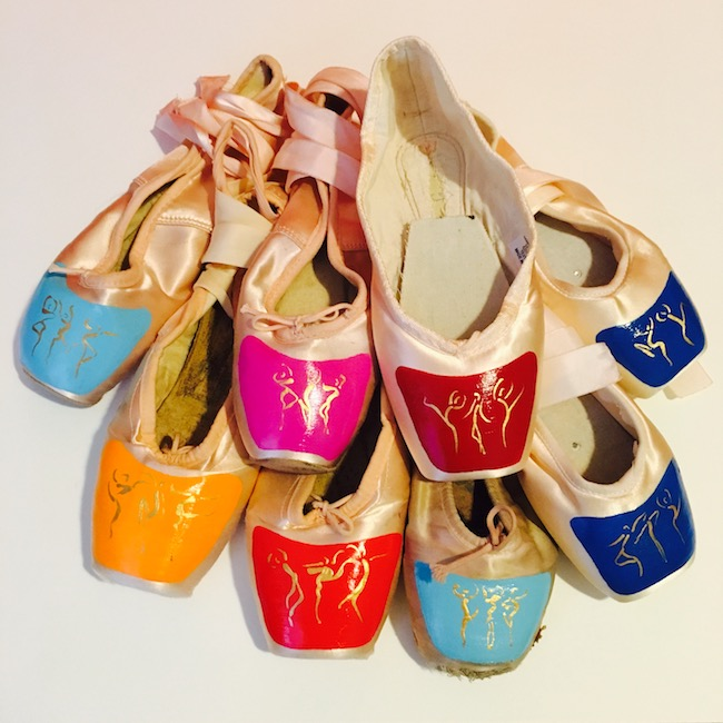 Meeke Mutter Pointe Shoe Designs